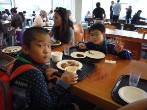 UBCでの食事